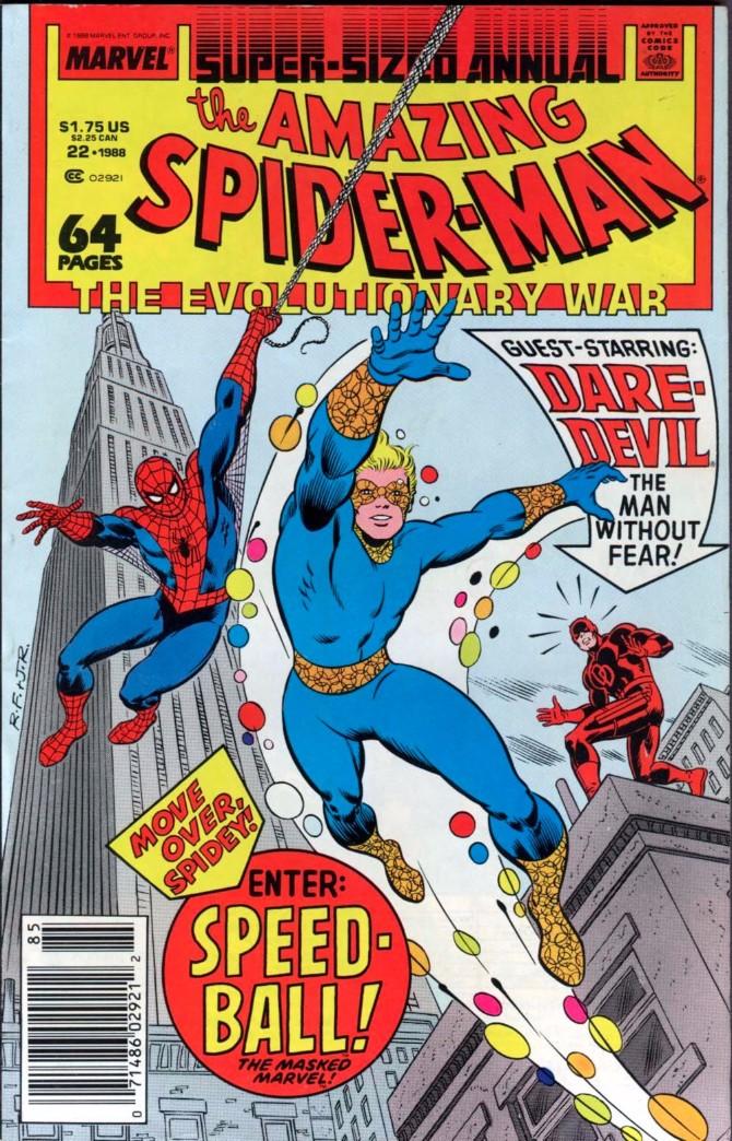1988 Moderni Spajdermenov kostim kroz generacije