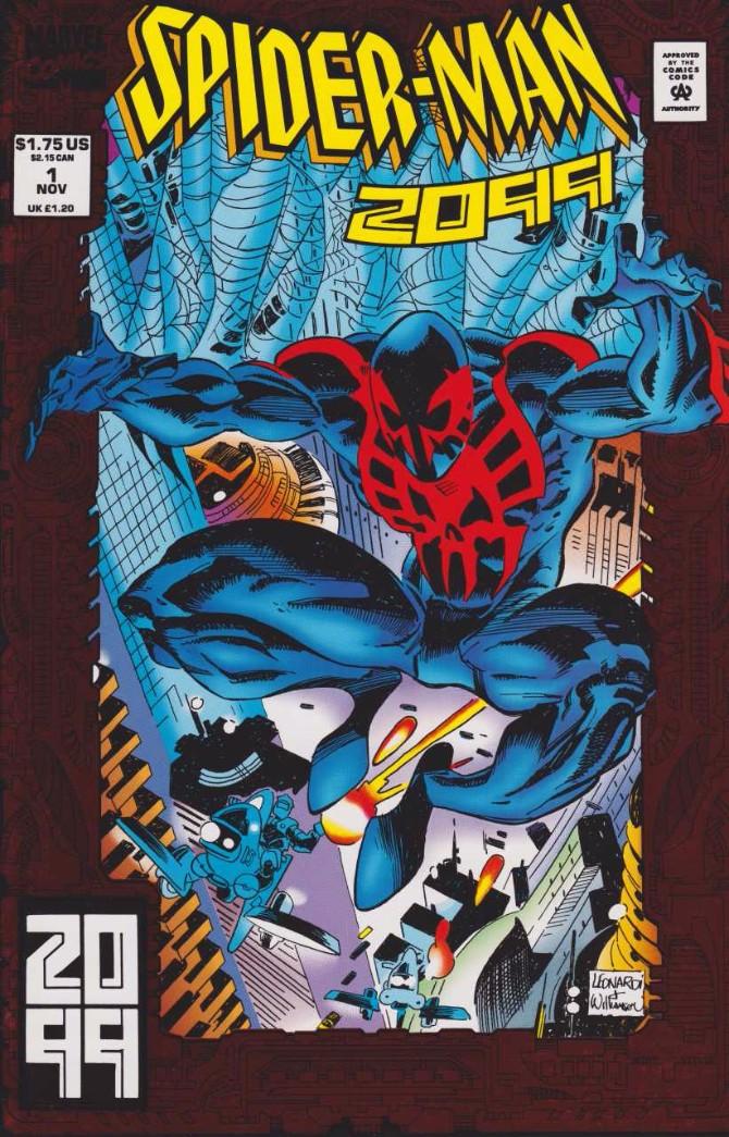 1992 2099 Spajdermenov kostim kroz generacije