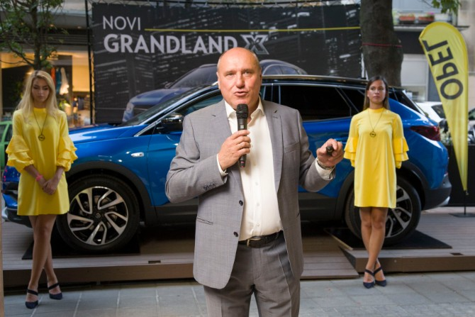 Dragan Nenadovic  1 Svetska pretpremijera potpuno novog Opelovog modela Grandland X u Beogradu