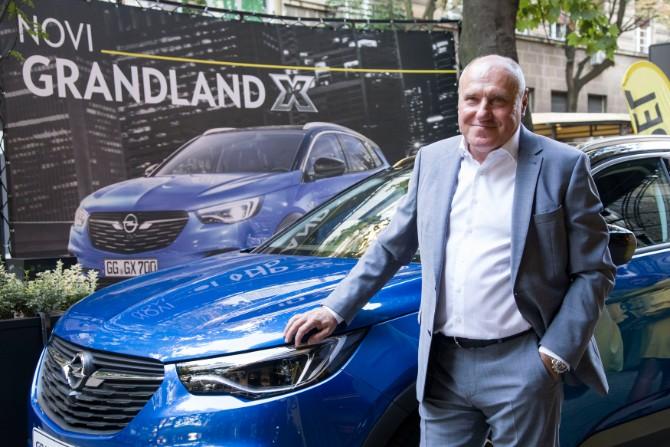 Dragan Nenadovic Svetska pretpremijera potpuno novog Opelovog modela Grandland X u Beogradu