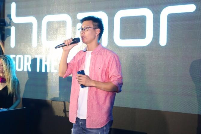Jacky ZhaoHuawei Device Direktor za region Balkana Honor 9 – Uzbudljiva igra tehnologije i svetlosti
