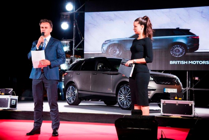 RR VELAR Ostoja Mijailovic Range Rover Velar nakon svetske premijere svečano predstavljen i u Beogradu