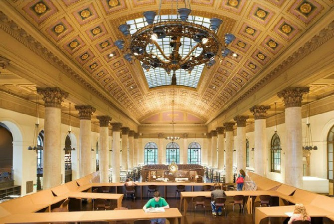 biblioteka 1 Najbolje univerzitetske biblioteke u Sjedinjenim Američkim Državama