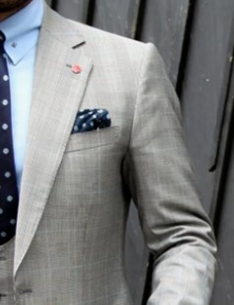 8 načina za savijanje maramice u džepu sakoa