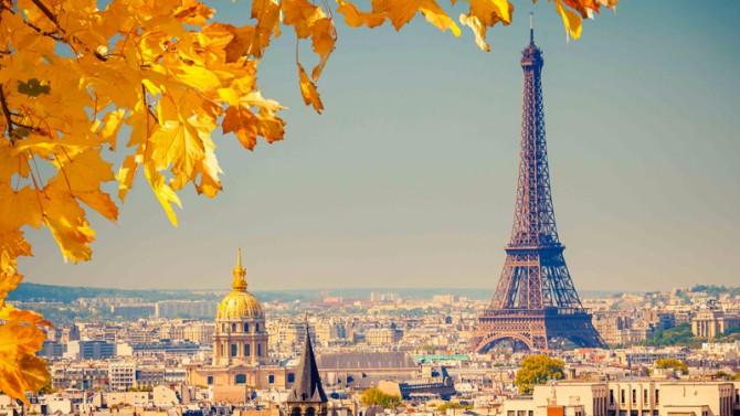 pariz Savršene destinacije za jesenja putovanja