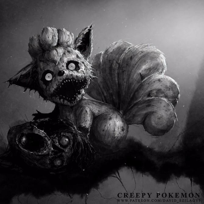 pokemoni1 Kada Pokemoni postanu čudovišta to izgleda ovako!