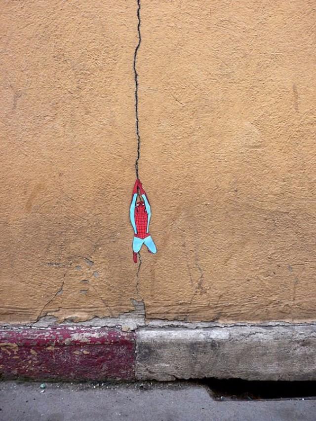 zanimljivi gradski grafiti 2 Grafiti koji će te nasmejati već pri prvom pogledu