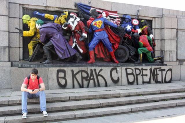 zanimljivi gradski grafiti 4 Grafiti koji će te nasmejati već pri prvom pogledu