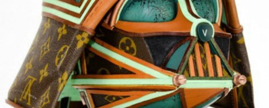 LV torbe u službi reciklažne umetnosti – Star Wars skulpture