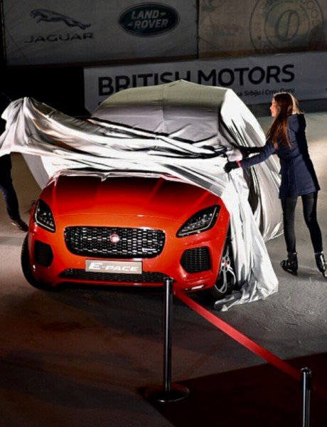 Premijera Jaguar E-PACE modela