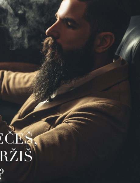 Kako da isečeš, zapališ i držiš cigaru?