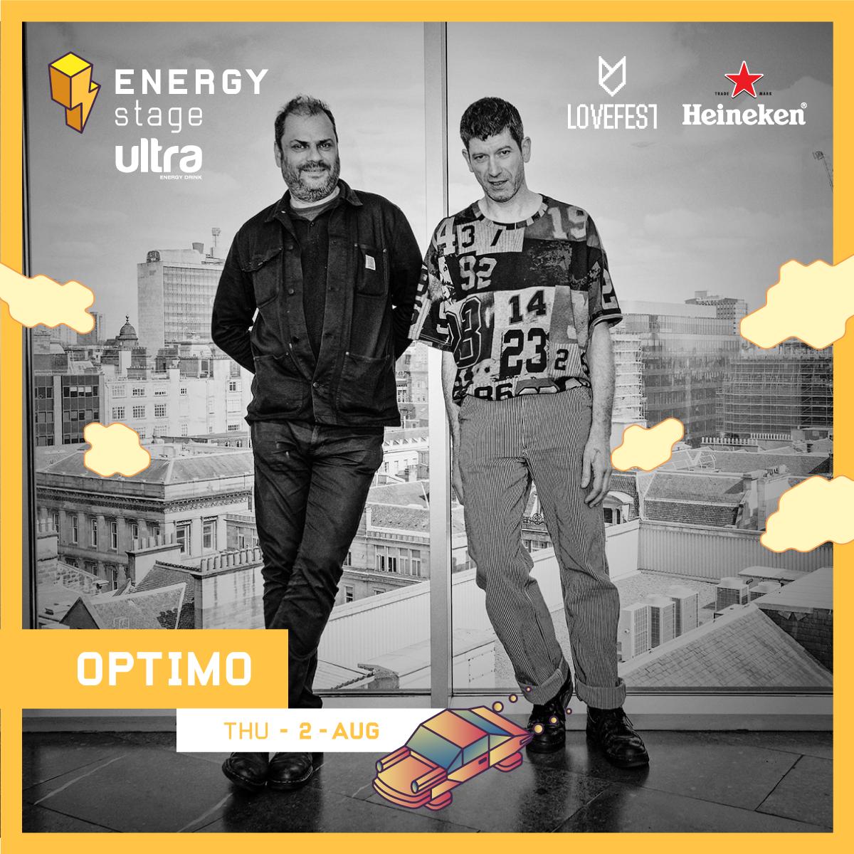 OPTIMO 1 Lovefest: Najveća andergraund imena na Ultra Energy Stage u