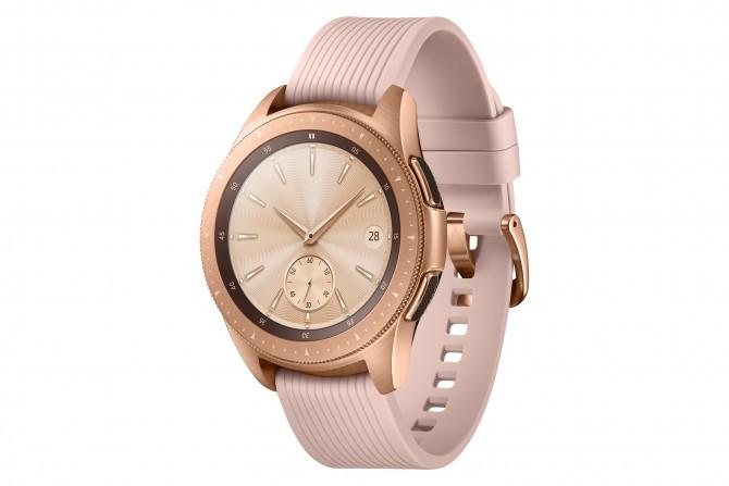 Galaxy Watch 42mm Rose Gold 1 e1533893075874 Budite stalno povezani bez obzira na to gde se nalazite sa novim Samsung Galaxy satom