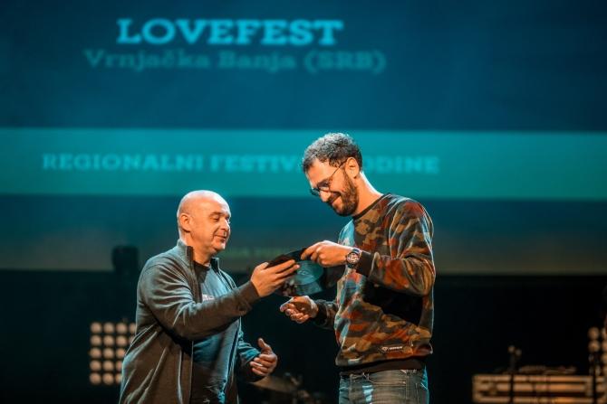 Marko Vukomanović 2 1 Priznanje za Lovefest – najbolji u regionu