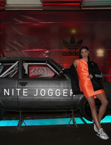 adidas Nite Jogger: Spektakularna žurka u čast svih mladih umetnika koji stvaraju noću