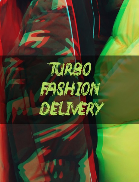 TURBO FASHION DELIVERY: Puff jakne