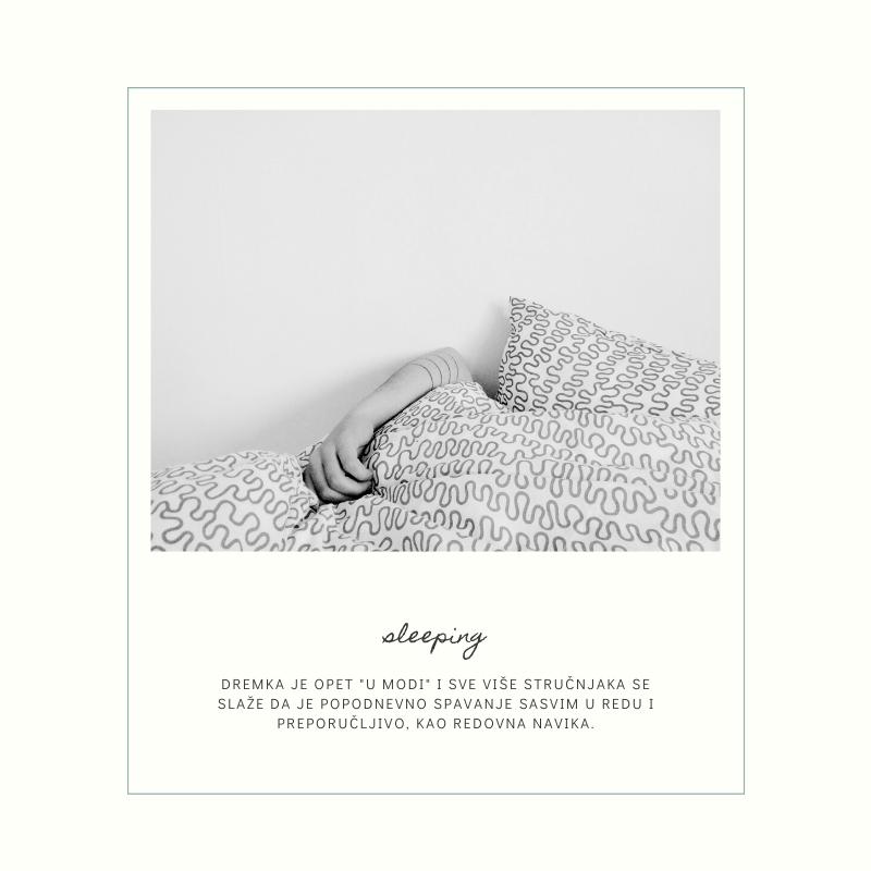 spavanje Zašto je popodnevna dremka zdrava i preporučljiva