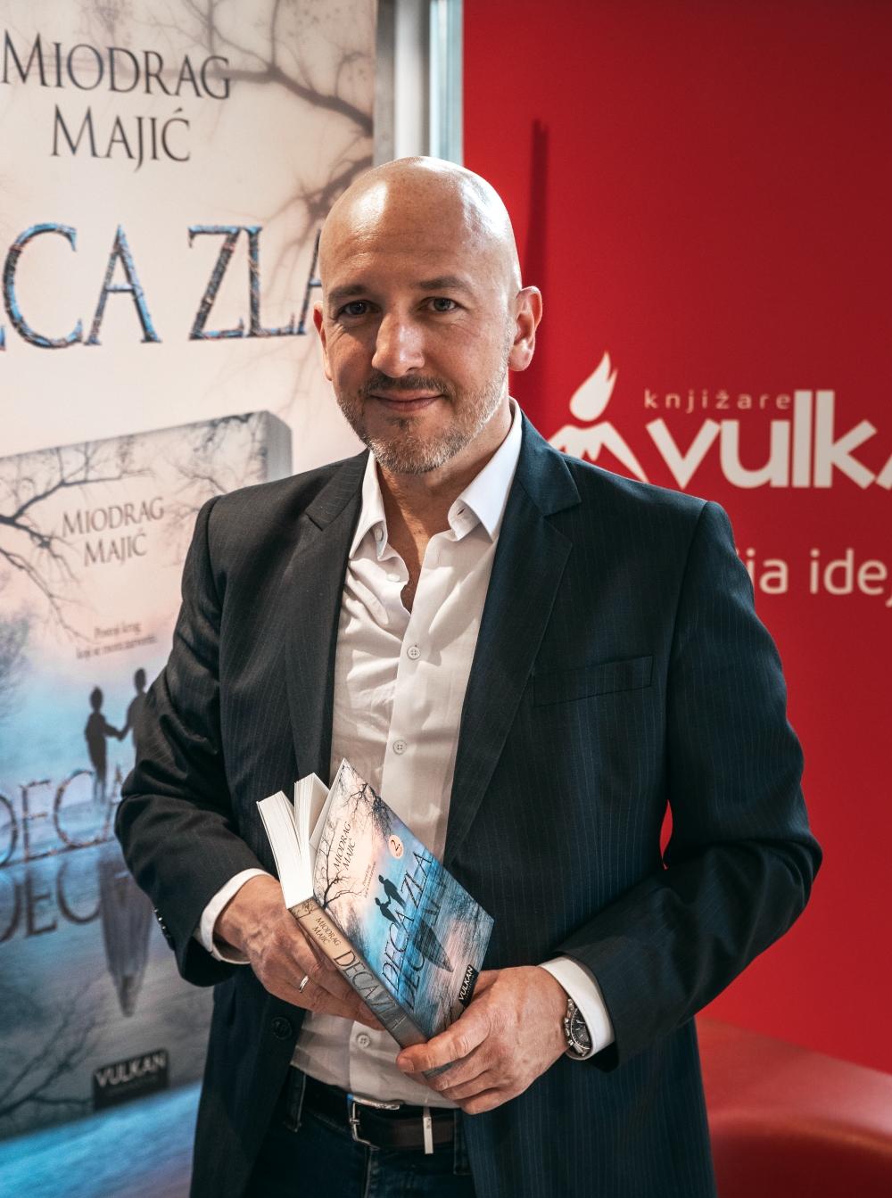 3 Miodrag Majić, autor romana Deca zla: Izvesno je da ćemo u dogledno vreme imati i igranu seriju po motivima ovog romana