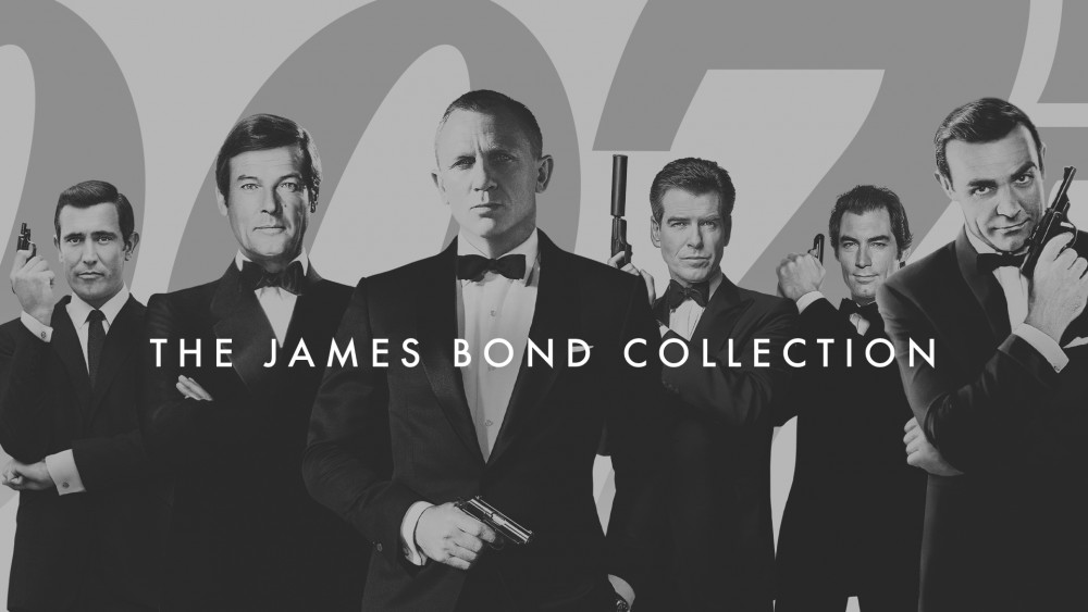 James Bond collection e1606496667788 Kompletna kolekcija Džejms Bond filmova stiže na HBO GO 1. decembra